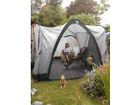 Large and Tall (2.3M High) Family Tent. Coleman Modulus X4. Great condition. Versatile Design.