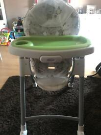 Graco contempo baby high chair feeding dining chair