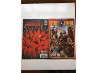 8x brand new comic books