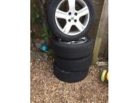 Tayer and wheels Peugeot 307