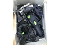 Df500 Festool domino with all the cutters