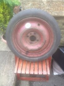"14"" wheel with tyre"