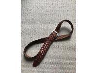 M&S Men's Leather Belt, Dalston