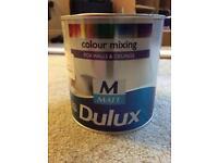 Dulux wall paint. Sage