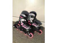 Softy Girl Adjustable Roller Skates (Unused).
