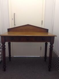 An old-fashioned writing table
