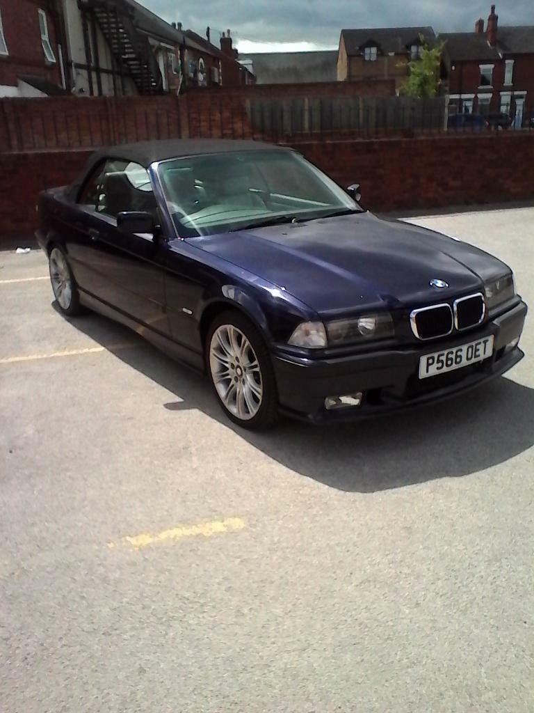 bmw e36 323i convertible in hucknall nottinghamshire gumtree. Black Bedroom Furniture Sets. Home Design Ideas