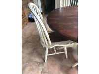 Laura Ashley Round Table & 4 Chairs - Bramley Style