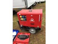 Pramac P6000s 6KVA Generator