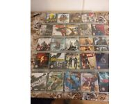PS3 controllers and 40 games