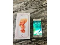 iPhone 6s 32gb Rose Gold mint condition