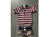 Girls Sunsuit- age 5-6