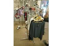 Retail Clothes Stand 4 Arm excllent condition