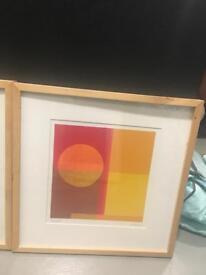 Artwork woth frames