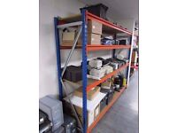 Metal Shelving Industrial Boltless Racking Garage Heavy Duty Shelf Bay 3 Tier