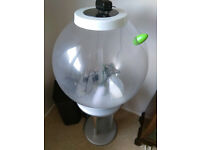 BiOrb (60 ltr) with silver stand & branded equipment for sale
