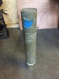 105mm howitzer round transport case