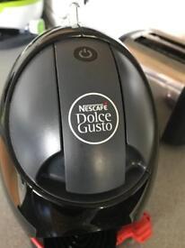 Nescafe Dolce Gusto Jovia Manual Coffee Machine - Black