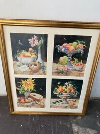 Fruit Picture & Frame