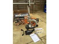 Evolution Rage 3B 210mm Mitre Saw - only used twice