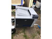 HP colour jet CP4025 laser printer working