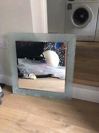Bathroom Mirror - 60cm x 60cm - £20