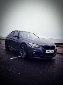 BMW 3 Series Grey X-Drive 2013