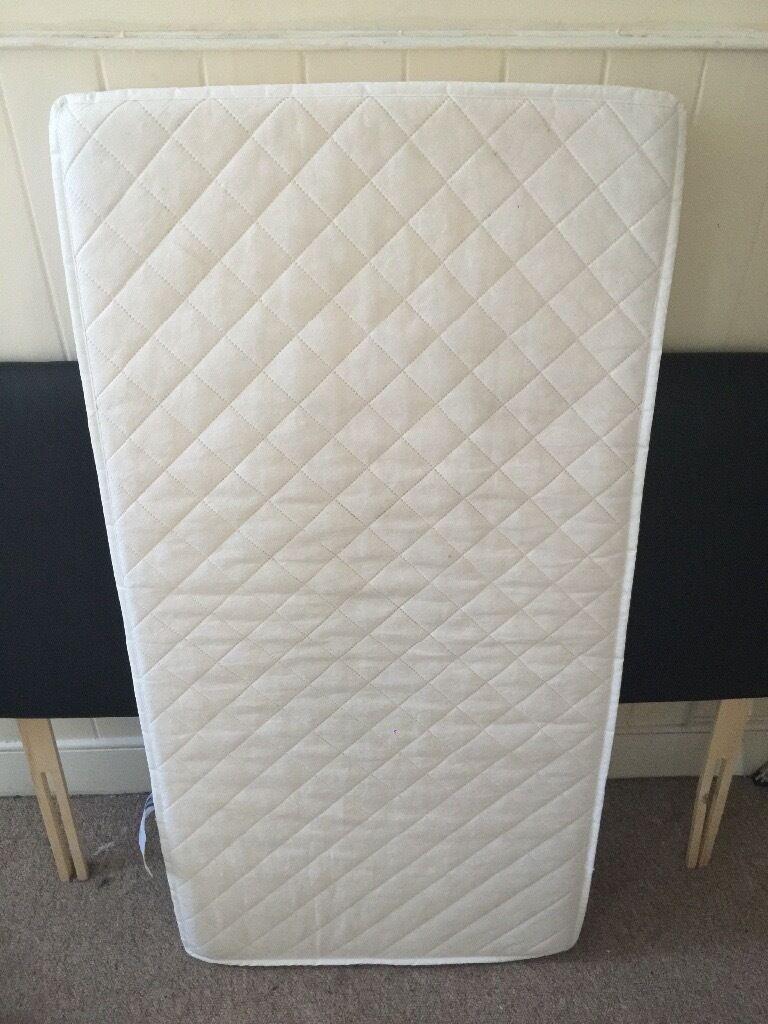 Cot mattress £10