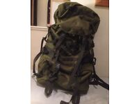 BERGHAUS CRUSADER MMPS SUPER HEAVY DUTY Army Backpack 90+20 litres INDESTRUCTIBLE!