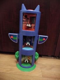 PJ Masks Headquarters Transforming Totem Playset in good condition.