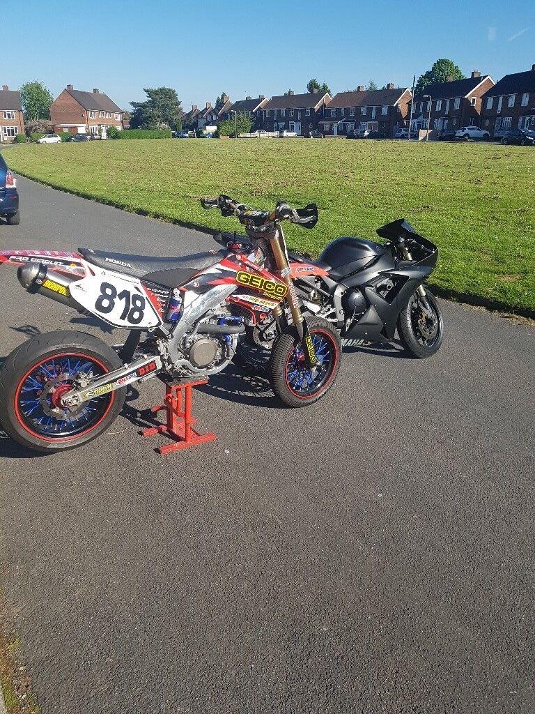 Honda crf450r supermoto | in Solihull, West Midlands | Gumtree
