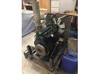Kubota Diesel engine. (4 cyl) Model number: V1505-E (digger / industrial / agriculture / mower)