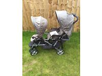 SOLD!! Double pram SOLD!!