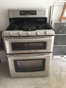 3 piece group sale: Washer, Dryer,Gas Stove