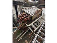 Kwik stage scaffolding