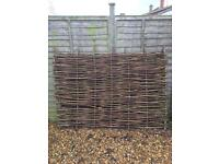 Willow screen/fence x2
