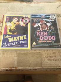 DVD's John Wayne and Ken Dodd