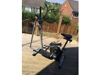 Pro Fitness Cross Trainer/Cycling Machine with digital display. Very good condition, little used.