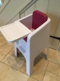 HOPPOP HIGH CHAIR - lovely condition & super stylish!