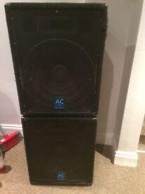 AC Euro Passive Loudspeakers