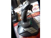 HOTAS for Flight Sims - CH Pro Throttle + Thrustmaster T.16000M Joystick