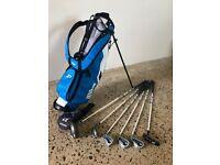 Wilson Deep Red Junior Golf Child's Kids Kid's Golf Package Set (9 - 12yrs)