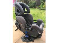 Kipplan Kiss 2 rear facing car seat with baby wheelie carrier