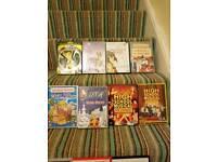 Dvd's £1 each. Disney £2 each.