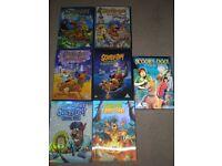 Scooby Doo DVD's x 7