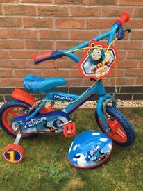Boys Thomas the Tank Engine Bike & Helmet