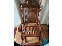 Teak Wood Swinging Chair