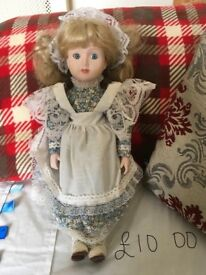 Collectors doll open to offers