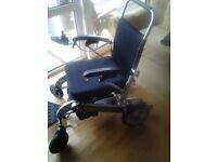 Wheelchair Foldaway PW 1000XL power chair