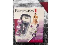 Remington smooth&silky 7-in-1 cordless epilator